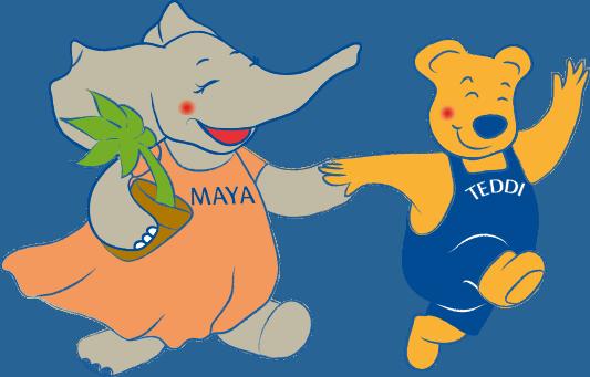 Maya e Teddi